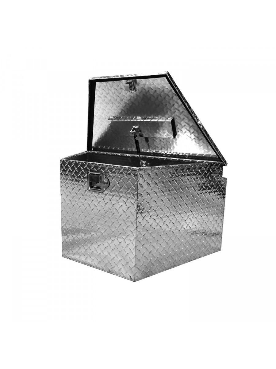 Caja de Aluminio Universal Para Carros de Arrastre / Large Portaequipajes