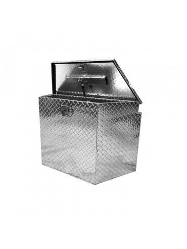 Caja de Aluminio Universal Para Carros de Arrastre / Medium Portaequipajes