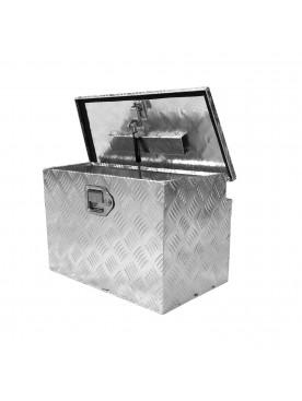 Caja de Aluminio Universal Para Carros de Arrastre / Small Portaequipajes