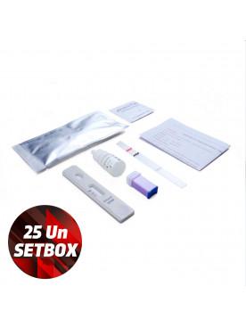 Fast Test Covid-19 Genrui - Setbox 25un Covid-19
