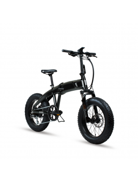 Bicicleta Eléctrica Plegable Sinch Black - Aventon Aventon