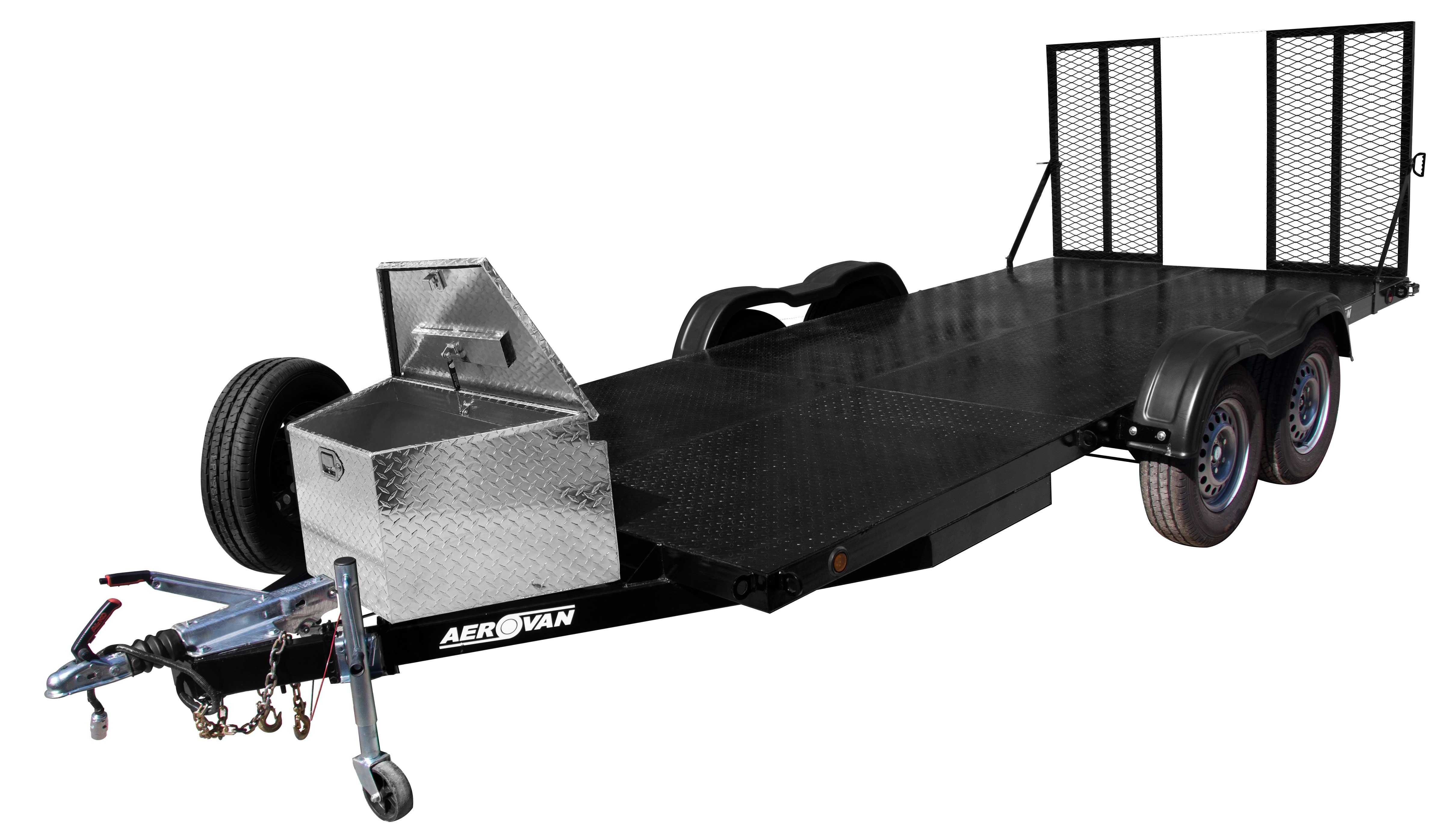 Caja de Aluminio para Carro de Arrastre